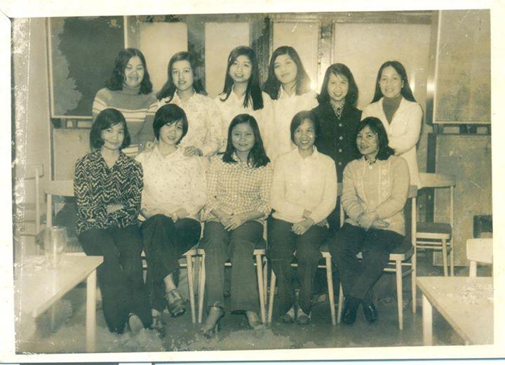 Các nữ du học sinh và NCS khóa 1980 - 1985 ở Czech