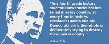 Quá nhiều người Việt mê Putin. Có ai biết câu này của ông ta không?