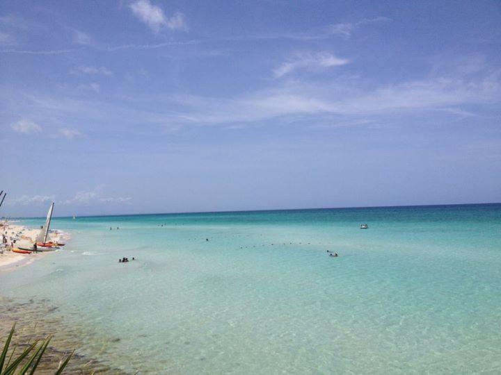 Biển Varadero dưới nắng