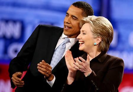TT Obama và Ngoại trưởng Clinton, hai cựu địch thủ đã thành công trong việc hợp tác cùng nhau để lãnh đạo nước Mỹ.