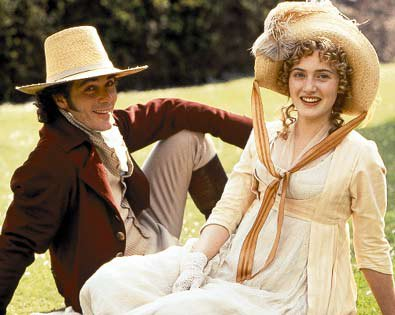 Kate Winslet & Greg Wise in Sense and Sensibility by Ang Lee 1995