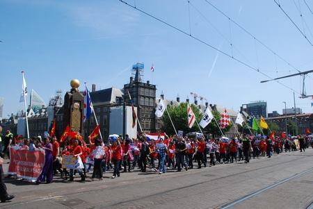 Biểu tình ở Hà Lan